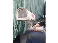 CCTV external vista camera housing + colour camera £10 each