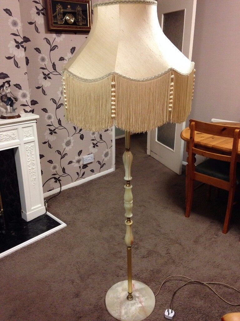 OFFERS WELCOME on this Standard lamp (onyx)
