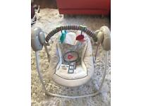 Baby portable swing (Ingenuity Soothe & Delight)