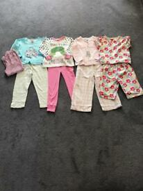 Girls Pyjama Bundle Age 3-4