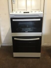 Zanussi gas cooker ZCG43200WA 55cm FSD double oven 3 months warranty free local delivery!!!!!!