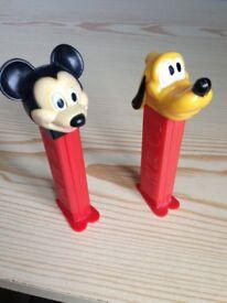 Vintage PEZ Dispensers - Disney Mickey Mouse & Goofy & Star Wars Stormtrooper