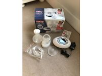 Nuby natural touch digital breast pump- barely used good as new