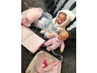 Tiny treasure doll bundle baby bundle