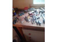 Job lot of hand tools