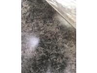 Worktop granite effect