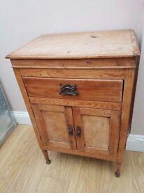 Shabby Chic Handmade Cabinet 54x38x80