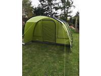 Vango avington 500 xl tent with carpet and footprint
