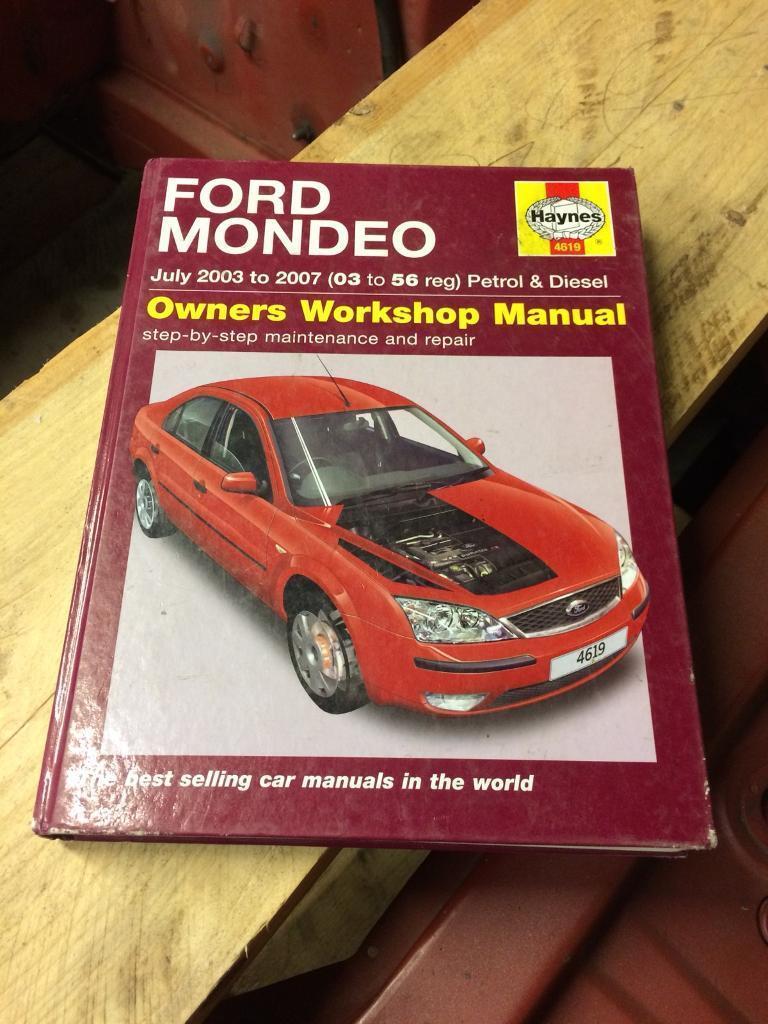 Ford mondeo mk3 Haynes manual