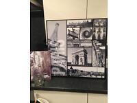 Paris Home Decor Items Canvas