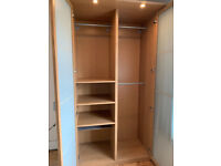Ikea Wardrobe and chest of Drawers