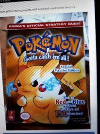 Pokemon yellow strategy guide