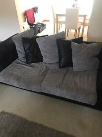 3 Seater and two seater sofas