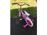Girls 12 and 14 inch bikes