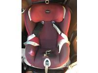 Britax dualfix car seat dark grape 0-4 years/ 18kg