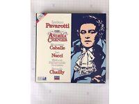 Luciano Pavarotti Singing Andrea Chenier Box Set