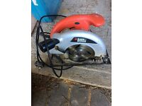 Black and Decker circular saw skill saw