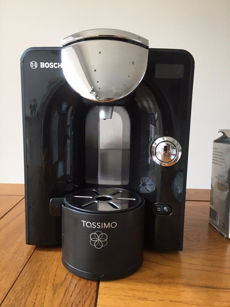 Bosch Tassimo Coffee Tea Hot Chocolate Machine T55 With 221 Pods And Pod Stand In North Shields Tyne And Wear Gumtree