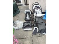 Mothercare Push Chair + Car Seat + Accessories