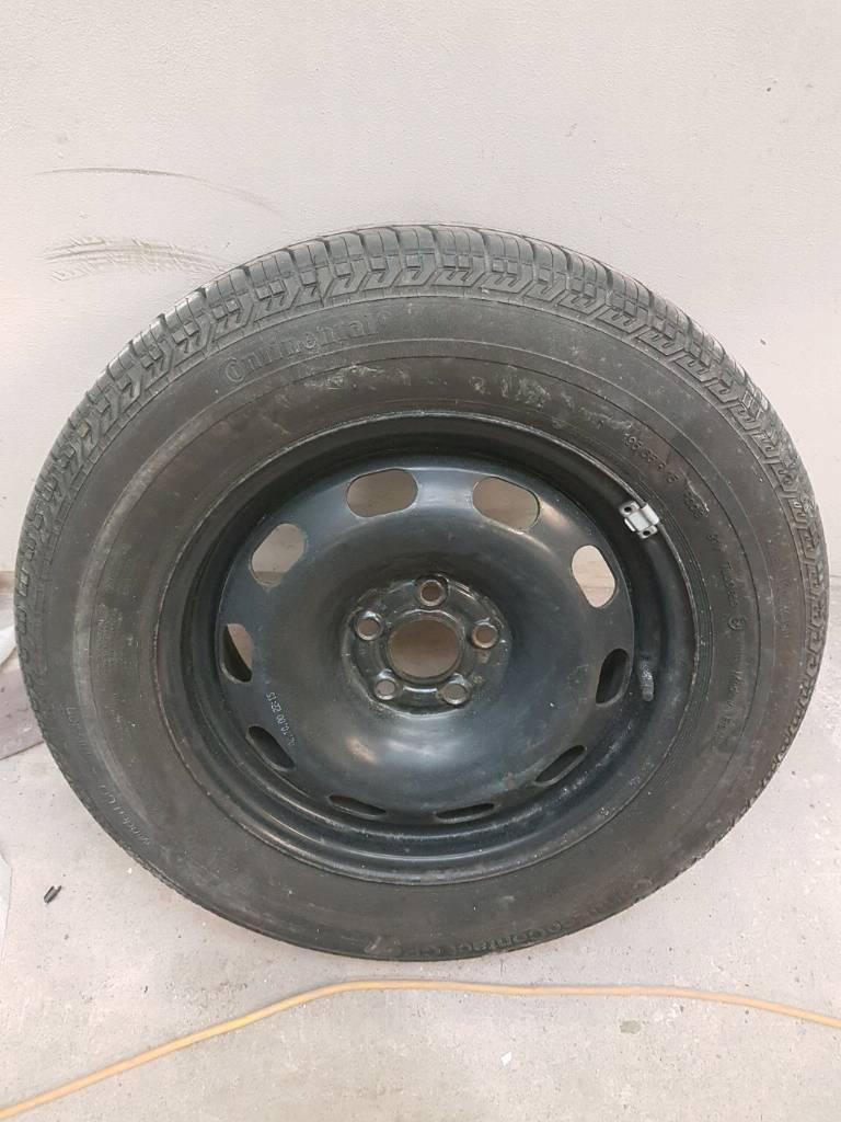 Vw golf mk4 bora beetle 195 65 15 spare wheel tyre