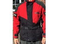 Light weight motor bike jacket for sale