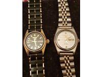 2 x Ladies vintage watches in good working order Seiko