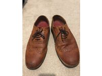 GRENSON SHOES Archie Tan Calf Leather size 10/10.5