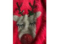 Christmas Jumper new with tags Aged 9-10