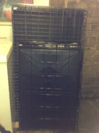 Large and xlarge dog crates