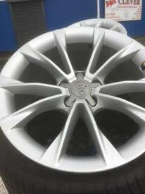 A5 alloy wheels