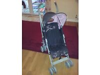 Baby Stroller with Raincover and Parasol