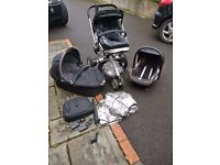 Quinny Buzz Travel System with full extra accessories-NEW LOWER PRICE