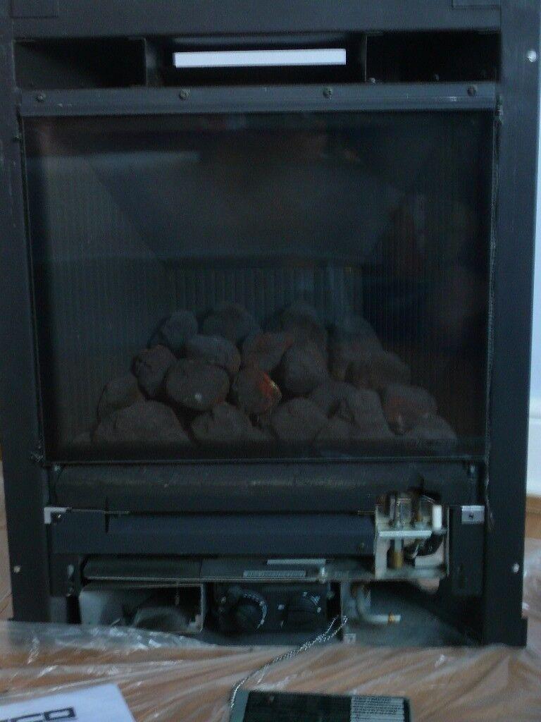 GAZCO E-LOGIC BOX GAS FIRE