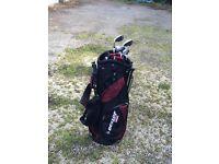 Dunlop Golf bag and clubs