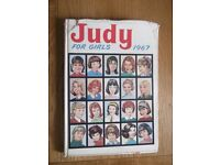 Judy For Girls comic annual 1967
