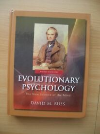 Evolutionary Psychology (Psychology Book) by David M. Buss ( hardcover)