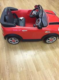 Avigo mini cooper coupe- kids car