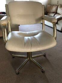 Vintage salon chairs