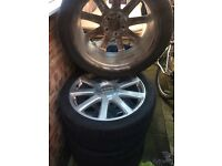 Audi alloys with tyres 21 inch