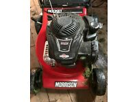 Morrison Rocket Petrol lawnmower - Briggs and Stratton engine