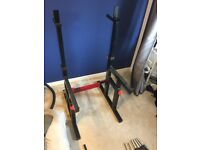 Weights and Fitness Equipment for Sale - Bodymax Squat Rack and Bench, 180kg Weights, Kettlebells