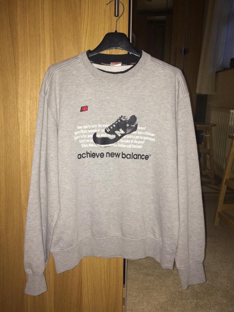 a33282a68d6bf Grey Retro Vintage New Balance Sweatshirt | in Woodley, Berkshire | Gumtree