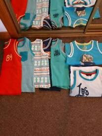 Boys Summer Vests Age4 4-5