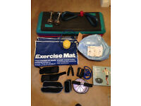 Dumbbells and Workout Pack