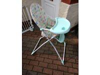 Baby Hugh chair.