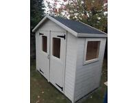 Handmade shed