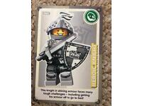 Heroic knight lego card number 82
