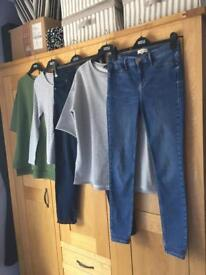 Ladies Clothes Bundle................Tops, Skinny Jeans & PJs - (Can Be Bought Separately)