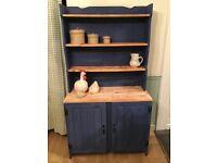 Upcycled solid pine Welsh dresser