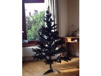 Black Christmas tree 5ft/150cm